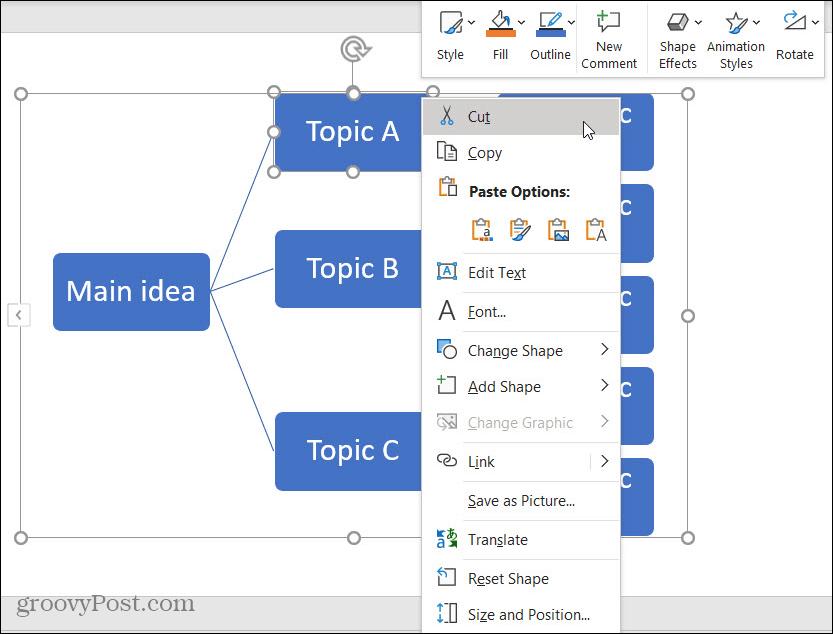 Đừng liệt kê ý ra để thuyết trình nữa, có cách vẽ sơ đồ tư duy trong PowerPoint đây rồi