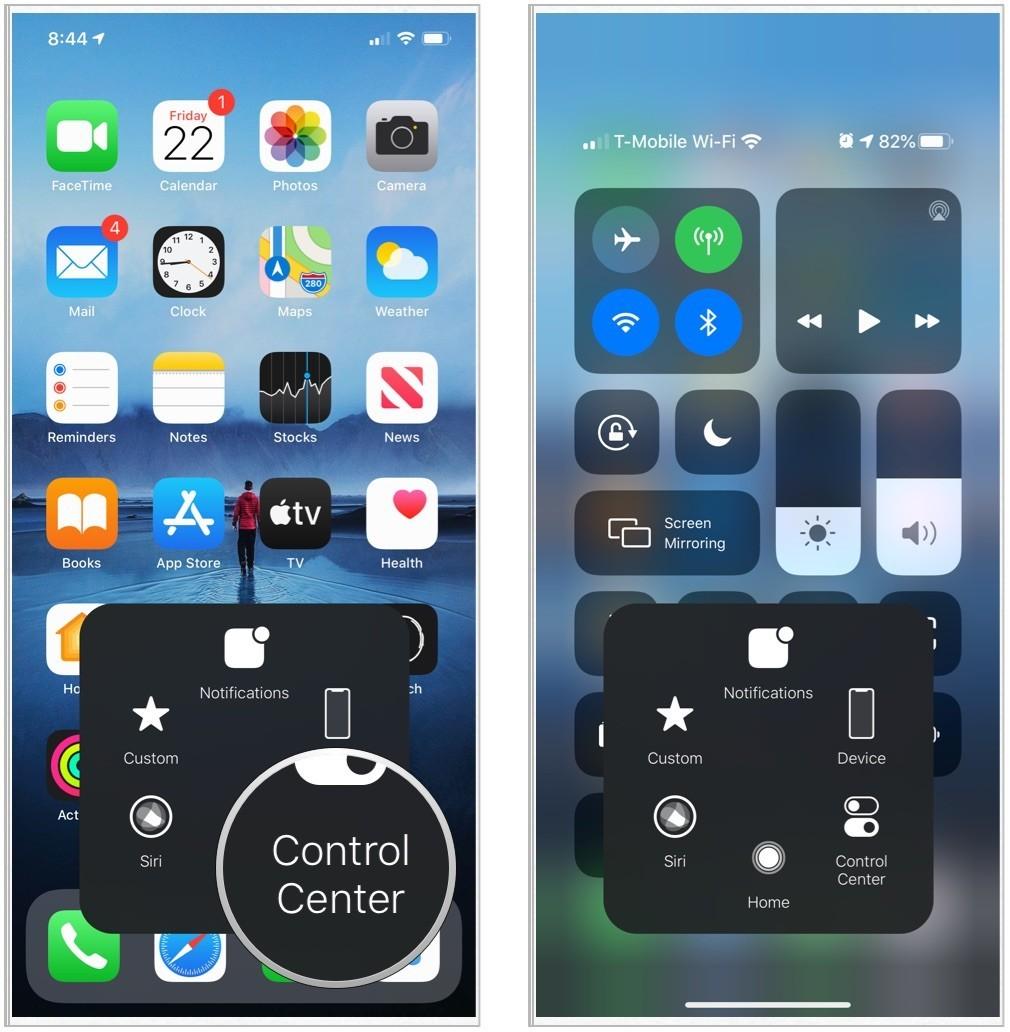 Cài nút home ảo cho iPhone: tiện còn hơn nút home thật