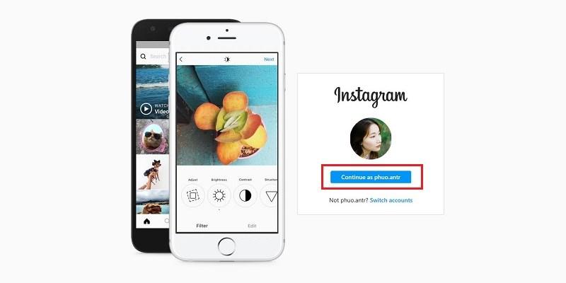 Đăng ký Instagram bằng Facebook vừa nhanh vừa tiện 12