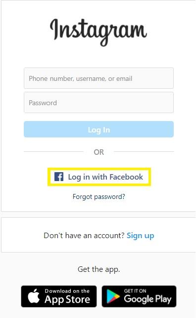 Đăng ký Instagram bằng Facebook vừa nhanh vừa tiện 8