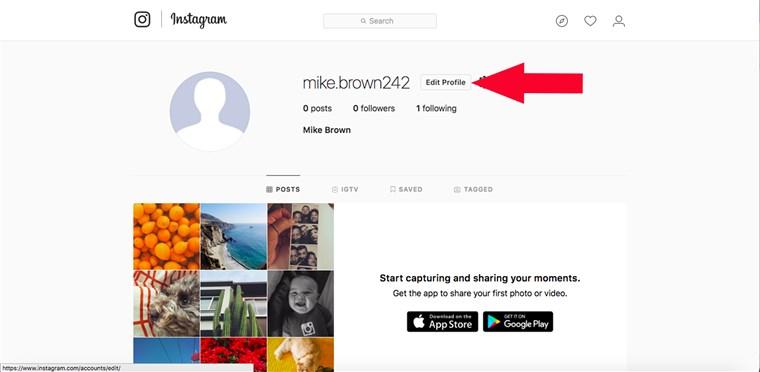 Tìm đâu cho xa, cách khóa Instagram tạm thời đây rồi 4