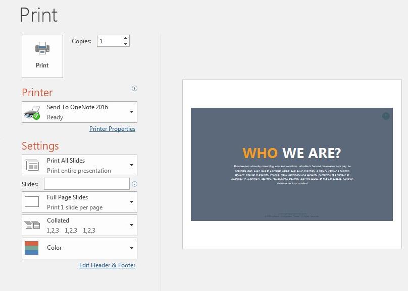 Hướng dẫn chi tiết cách in PowerPoint cho người mới dùng