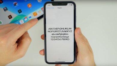 app font chu dep cho iphone