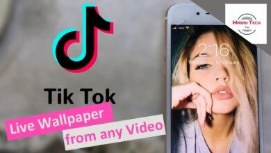 Cách lấy video Tik Tok làm hình nền để thêm phần sinh động