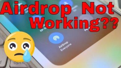 AirDrop khong nhan