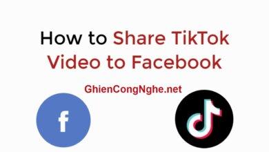 Cách đăng video TikTok lên Facebook chỉ trong vòng 1 nốt nhạc 9