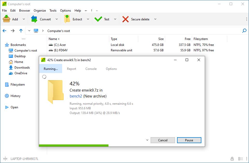 Top những phần mềm giải nén miễn phí thay thế WinZip tốt nhất hiện nay 6