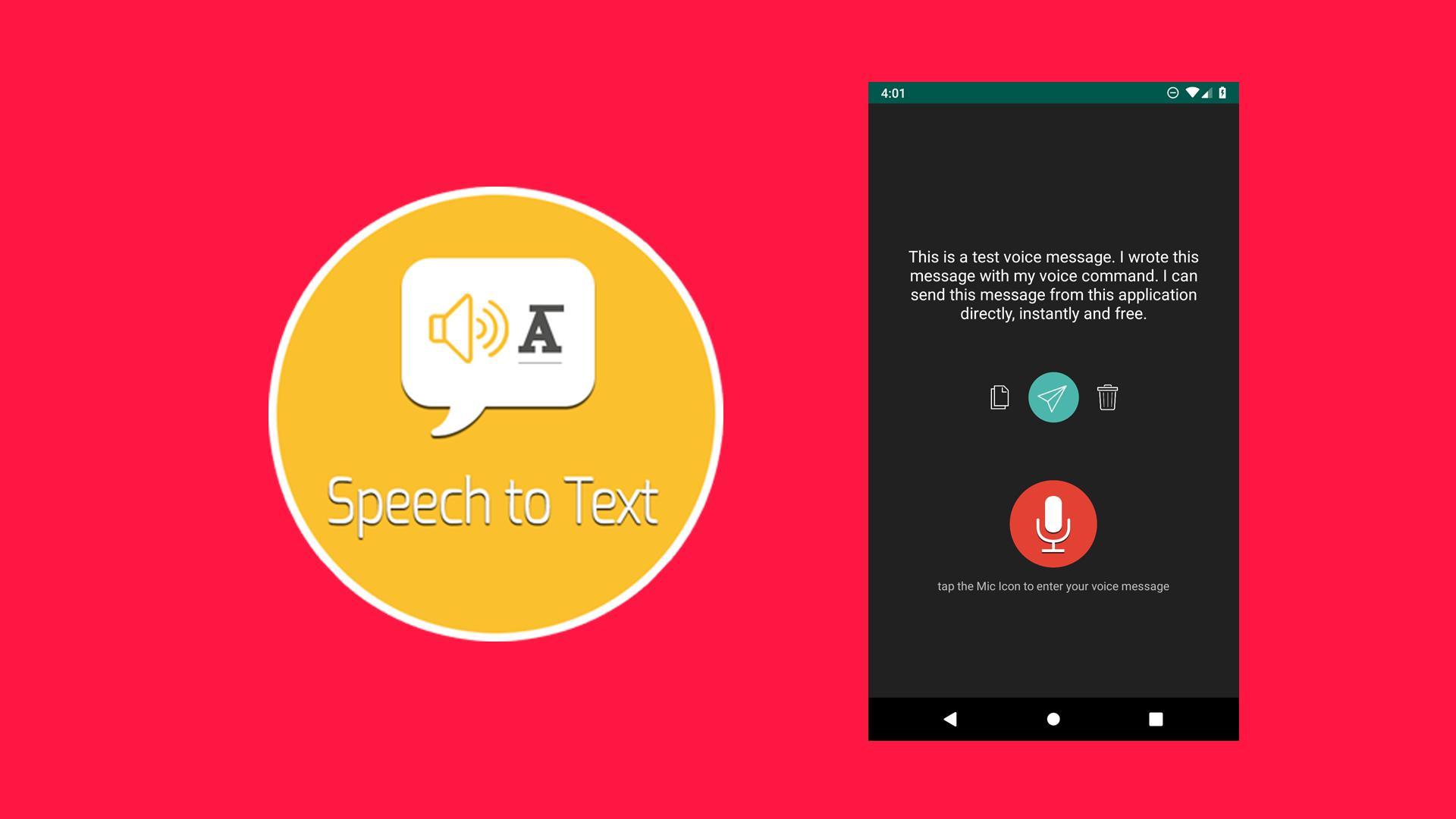 phần mềm chuyển đổi giọng nói thành văn bản trên Android