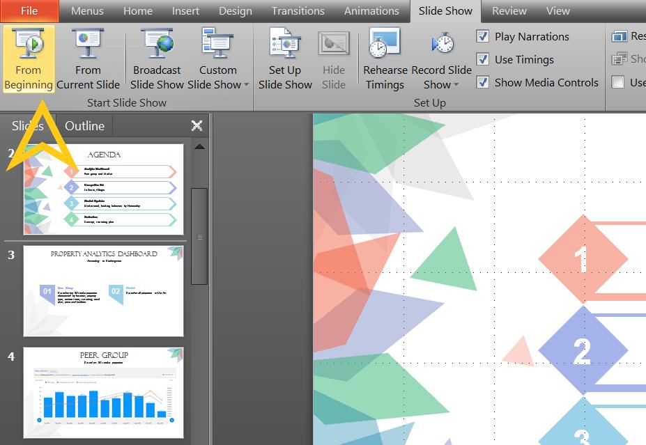 Cách tắt slide tự chạy trong PowerPoint 2010 đơn giản bất ngờ