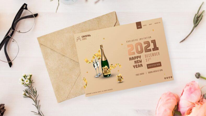 Tổng hợp những mẫu thiệp chúc mừng năm mới 2021 ý nghĩa nhất