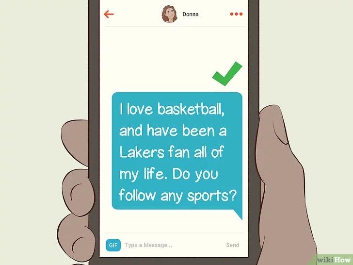 Làm sao để nhắn tin trên Tinder mà chân ái không lặng lẽ unmatch 6