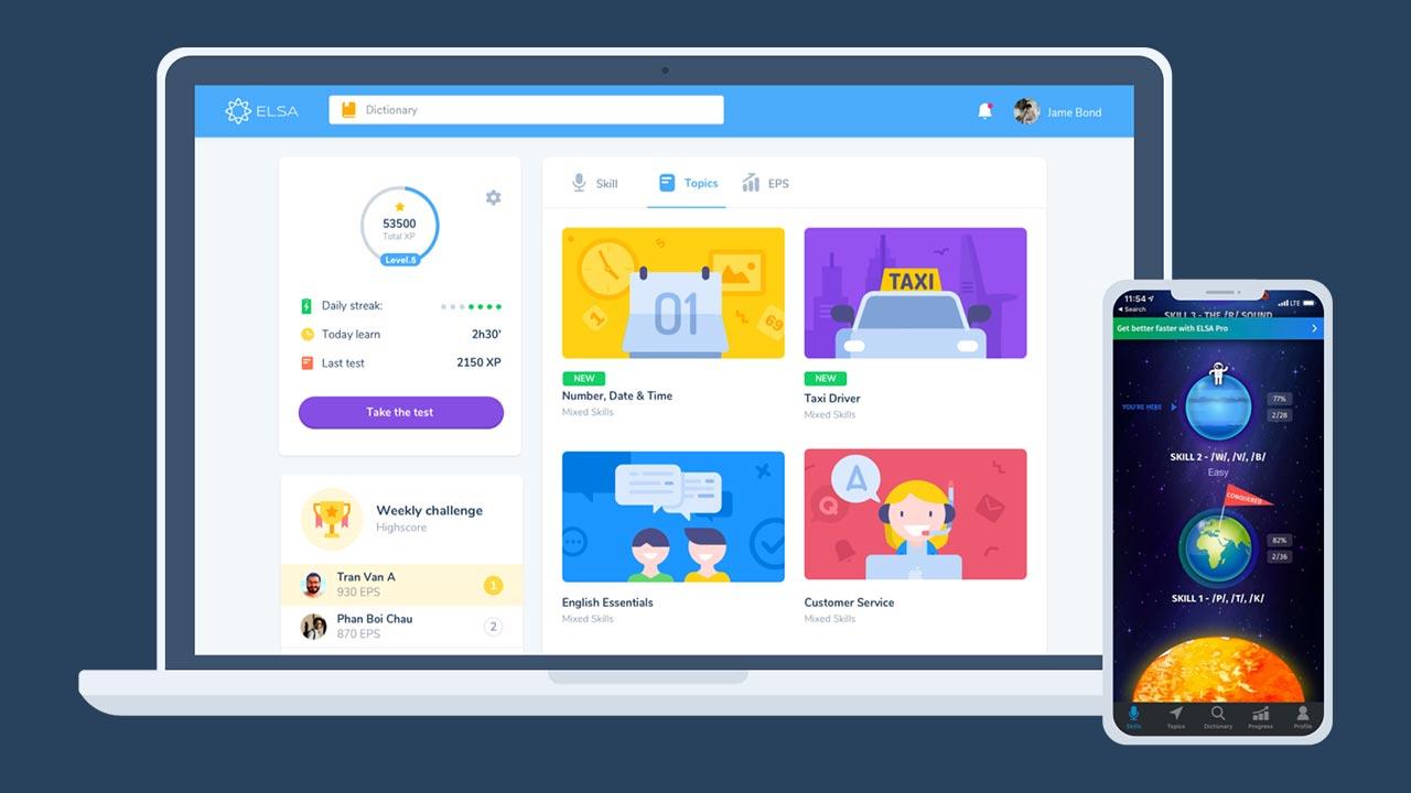 Hướng dẫn tải phần mềm ELSA Speak cho máy tính để con học tiếng Anh trên màn hình lớn 22