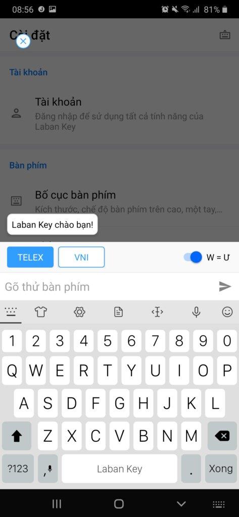 Thử dùng bàn phím iPhone cho Android. Quên luôn bàn phím gốc 2