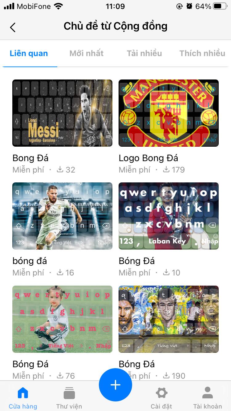 Top 3 app có chủ đề hình nền bàn phím iPhone đẹp nhất 1