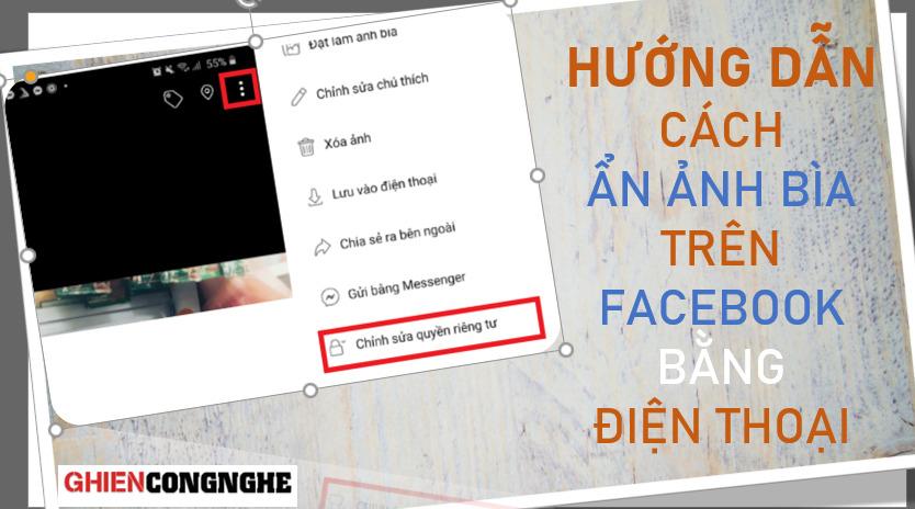 Hướng dẫn cách ẩn ảnh bìa trên Facebook bằng điện thoại