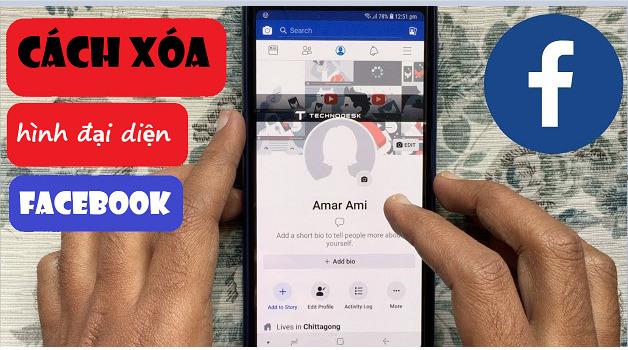 Hướng dẫn cách xóa ảnh đại diện trên Facebook. Cứu cánh khi chưa kịp chỉnh filter đã đăng hình