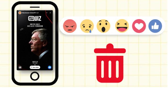 Hướng dẫn cách xóa biểu tượng cảm xúc trên Story Facebook bạn không nên bỏ qua