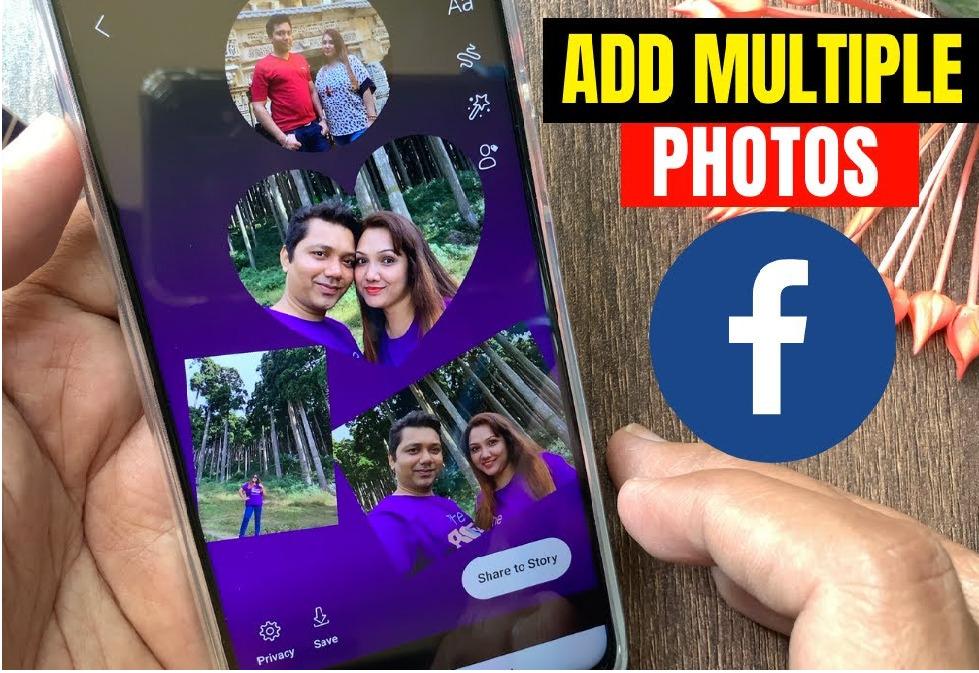 Hướng dẫn cách chèn nhiều ảnh vào một Story Facebook