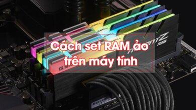 Hướng dẫn set RAM ảo cho máy tính Windows cực đơn giản 1