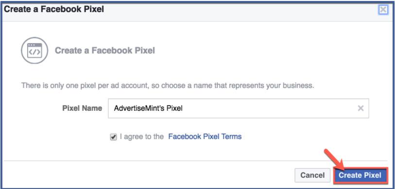 Hướng dẫn tạo Facebook Pixel. Kinh doanh trên Facebook 2021 không nên bỏ qua 3