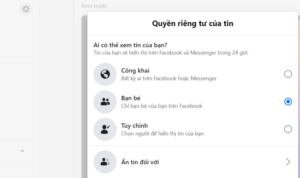 Cách đăng Story trên Facebook cực đơn giản cho người mới bắt đầu 12