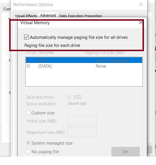 Hướng dẫn set RAM ảo cho máy tính Windows cực đơn giản 16