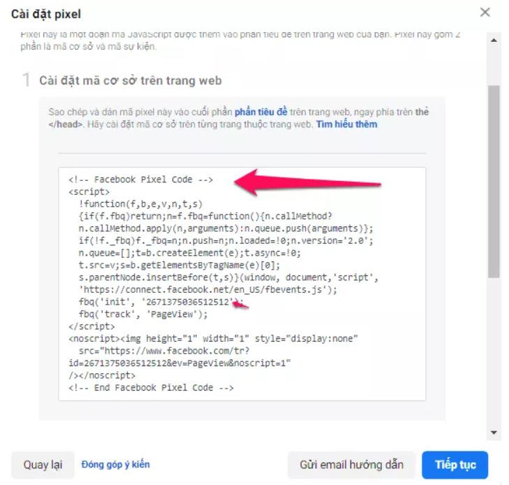 Facebook Pixel ID là gì? Làm sao để tìm và sử dụng nó cho việc kinh doanh trên Facebook? 9