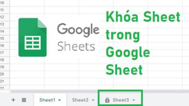 cach khoa sheet trong google sheet 000