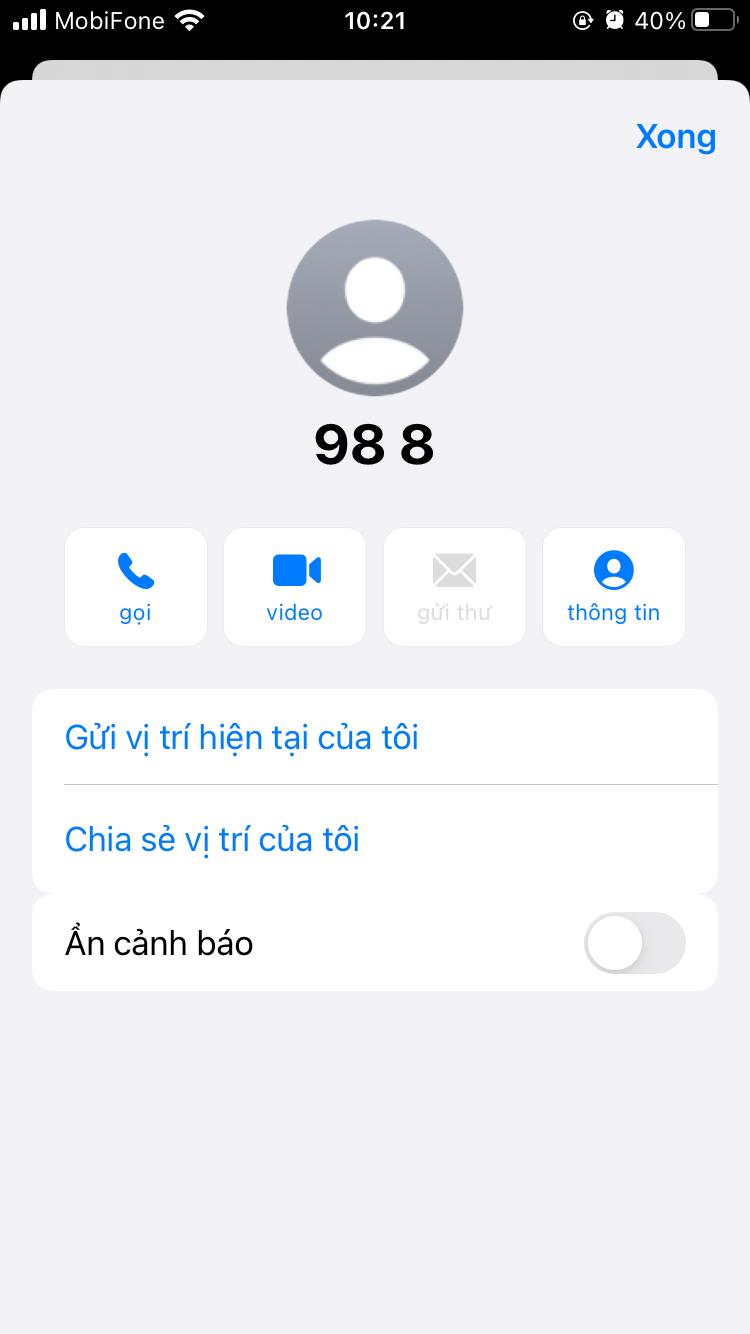 Cách lưu số điện thoại trên iPhone của bạn với 3 cách khác nhau 21