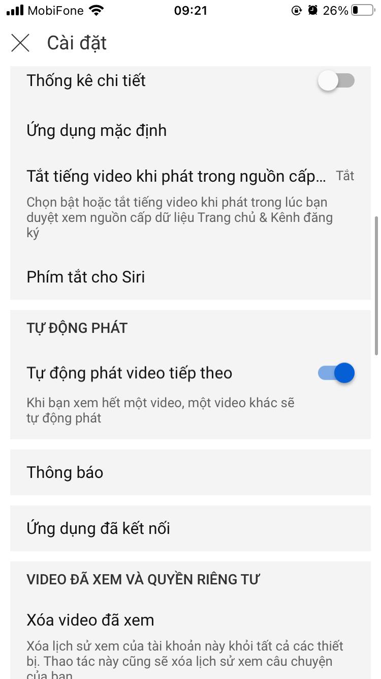 cach phat video lien tuc tren youtube 2