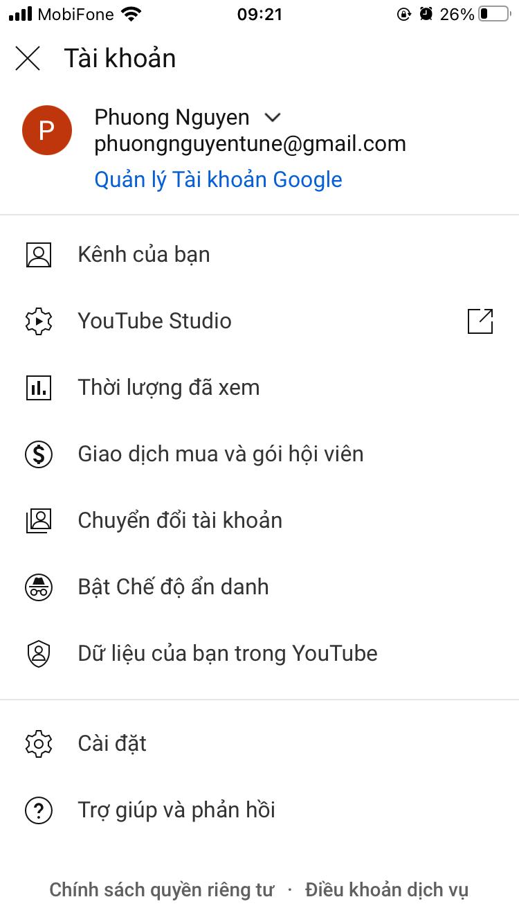 cach phat video lien tuc tren youtube 3