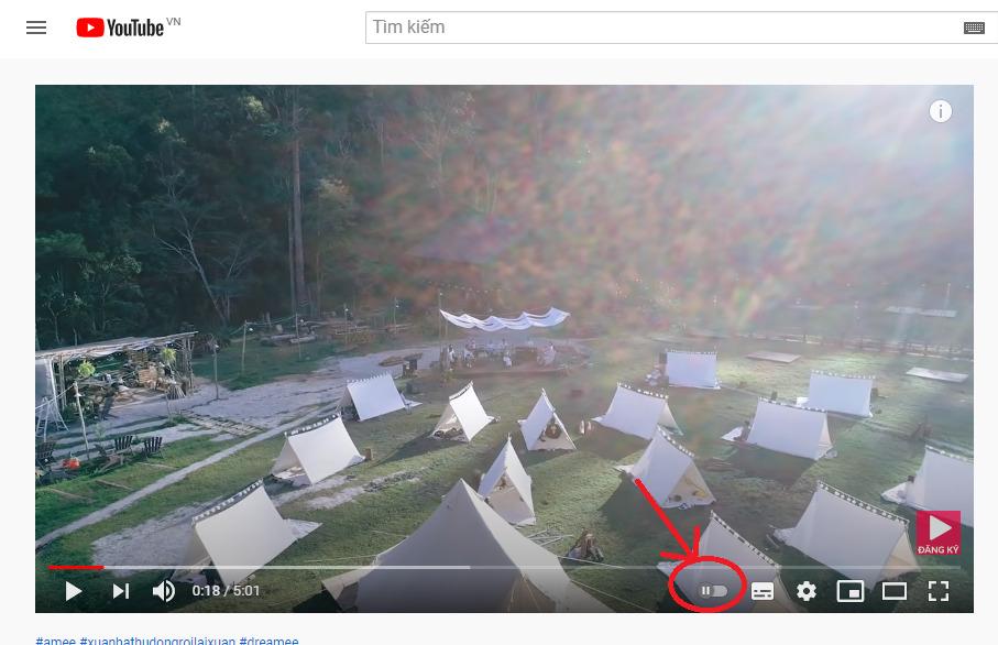 cach phat video lien tuc tren youtube 5