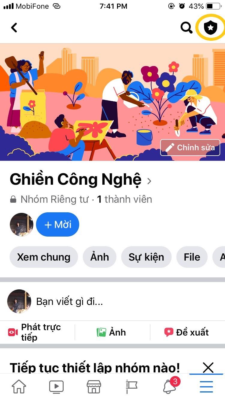 Hướng dẫn cách tạo nhóm trên Facebook bằng điện thoại 2021