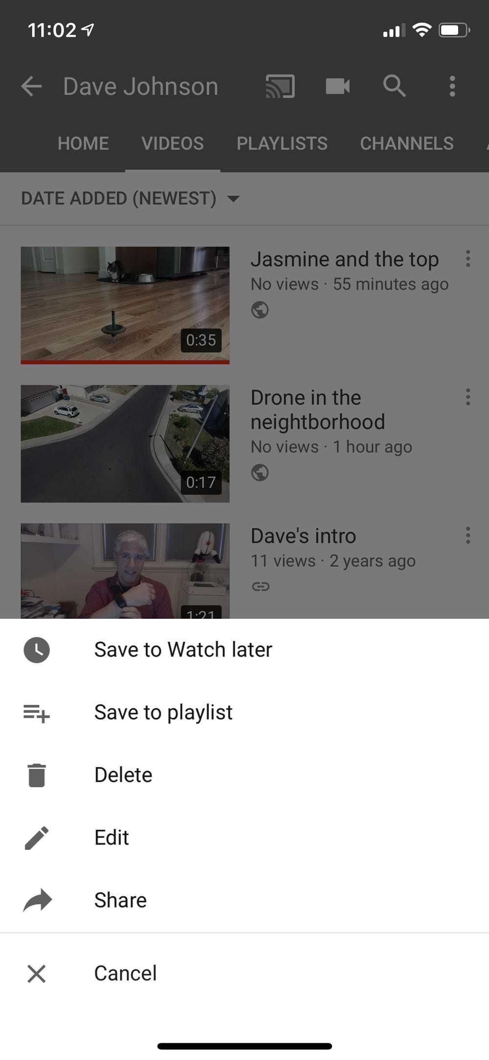 Cách xóa video trên YouTube bằng điện thoại và máy tính 2021
