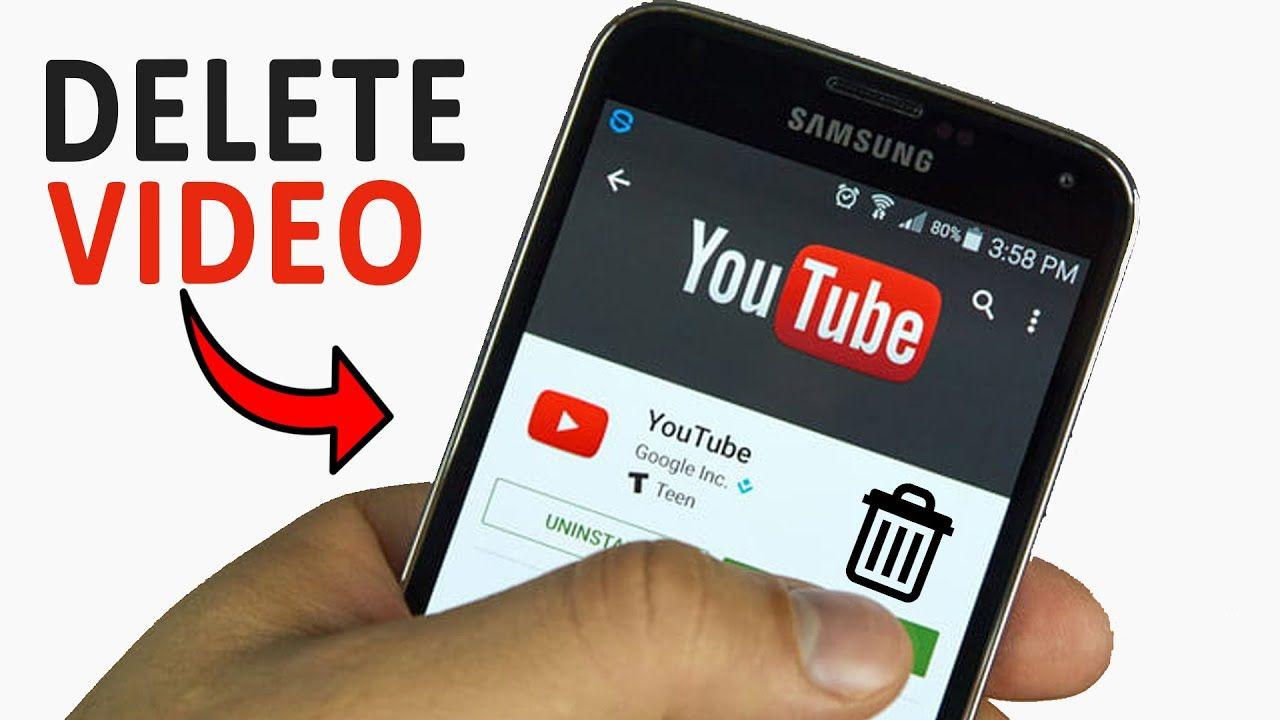 Cách xóa video trên YouTube bằng điện thoại trong vòng 1 nốt nhạc