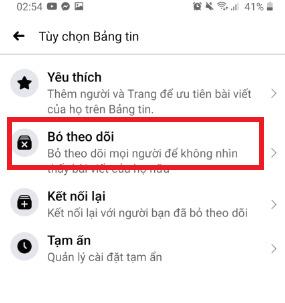 Hướng dẫn cách bỏ theo dõi trên Facebook bằng điện thoại 15