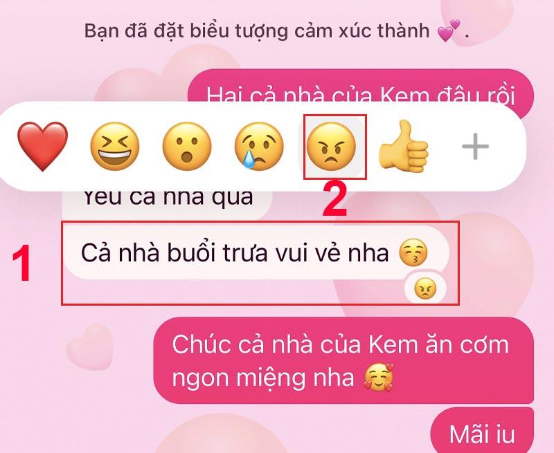 Hướng dẫn cách gỡ biểu tượng cảm xúc trên Messenger 10