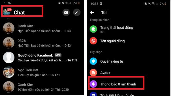 Hướng dẫn tắt thông báo Messenger cực hiệu quả ai cũng cần biết 2