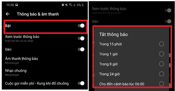 Hướng dẫn tắt thông báo Messenger cực hiệu quả ai cũng cần biết 3