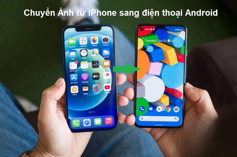 chuyen anh tu iphone sang android