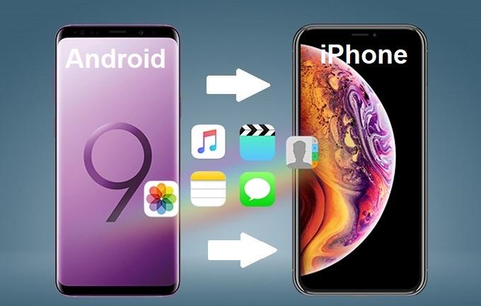 Apple cáo già với cách chuyển dữ liệu từ Android sang iPhone bằng app Android đầu tiên của hãng