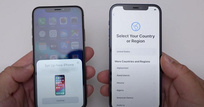 chuyển ứng dụng từ iphone sang iphone 1
