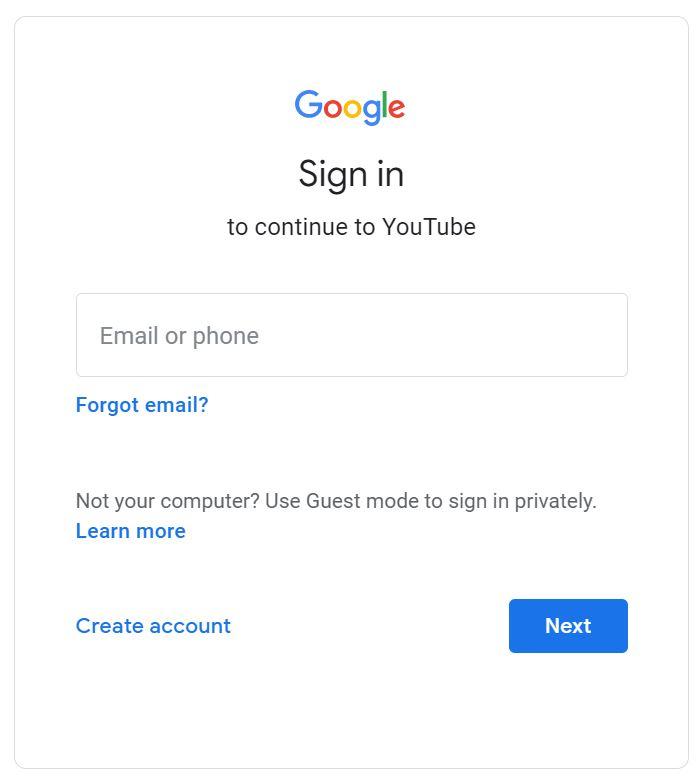 Hướng dẫn cách đăng nhập YouTube trên máy tính chỉ trong 1 nốt nhạc