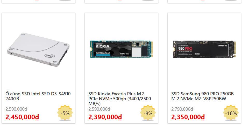 SSD là gì? Những đặc điểm về cấu tạo và nguyên lý hoạt động khuyến nó vượt trội hơn HDD 5