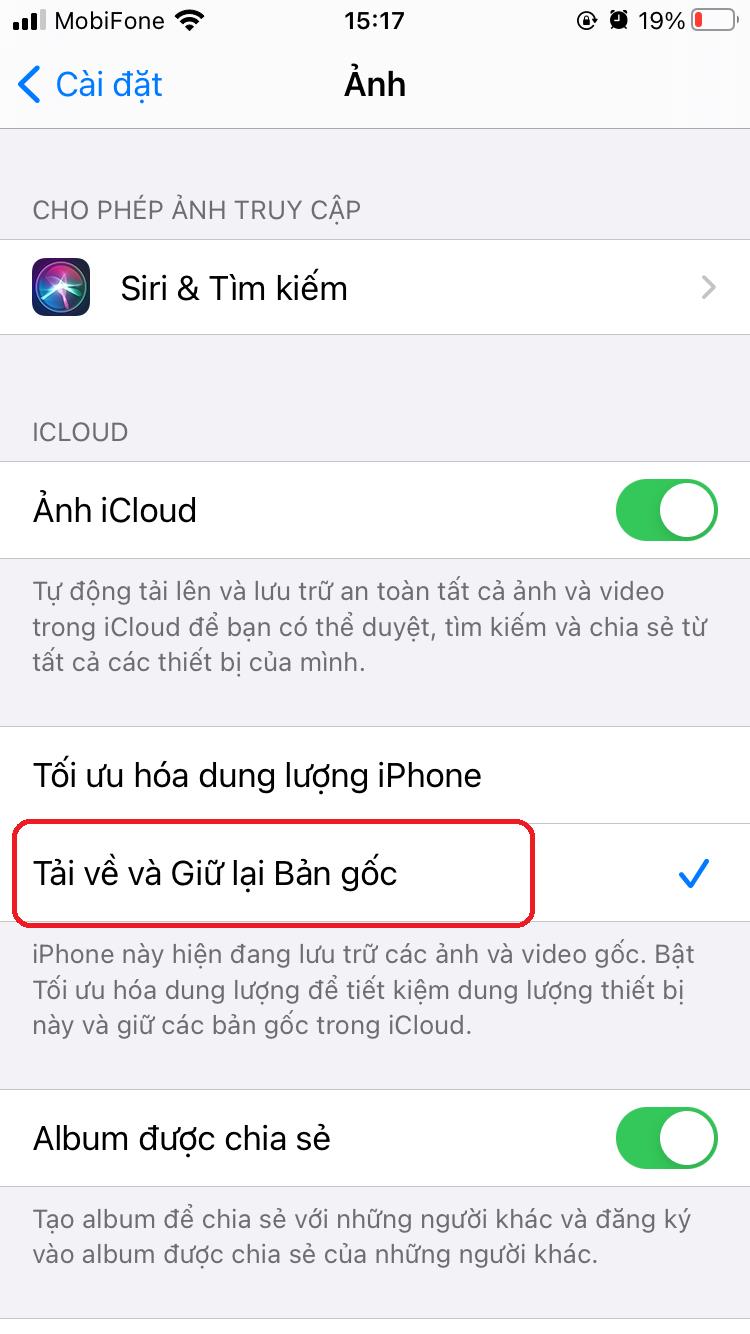 lay anh tu icloud ve dien thoai iphone