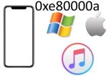 Tổng hợp cách sửa nhanh lỗi iTunes 0xe80000a 19