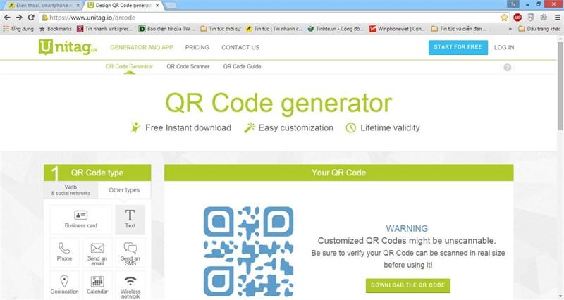 Top 6 phần mềm tạo mã QR miễn phí tốt nhất