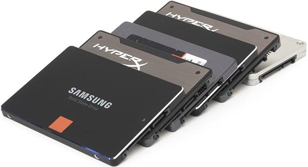Sự khác biệt giữa SSD và HDD