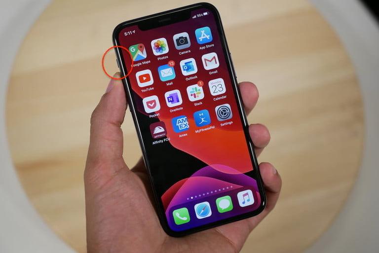 tắt tiếng chụp ảnh iPhone