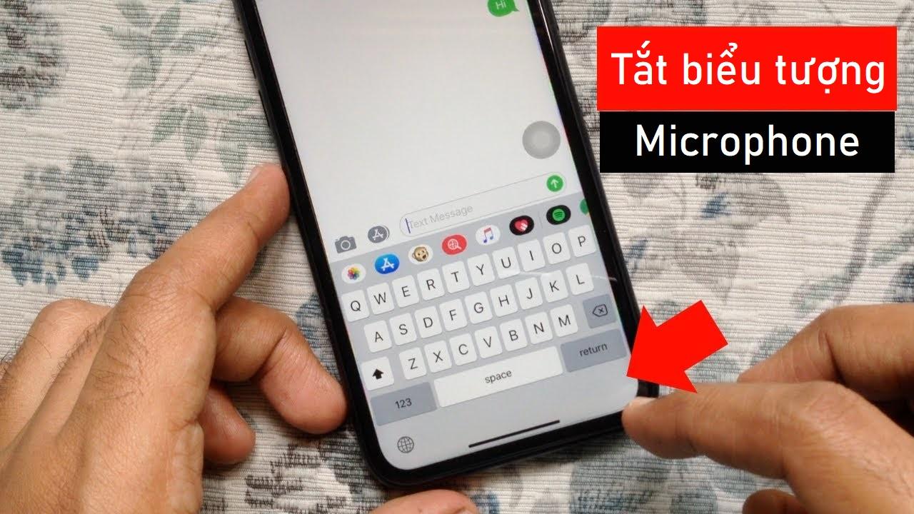 tat bieu tuong micro tren ban phim iphone 00